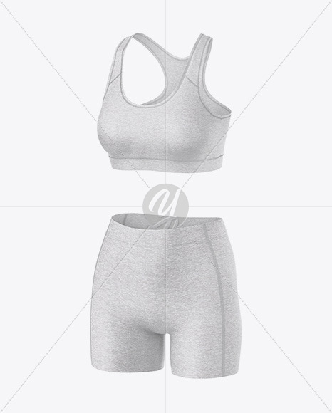 Download Basketball Reversible Mesh Short Mockup Front Half Side View Yellow Images