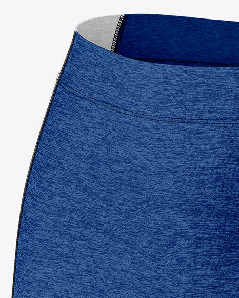 Melange Women's Sport Kit Mockup - Half Side View