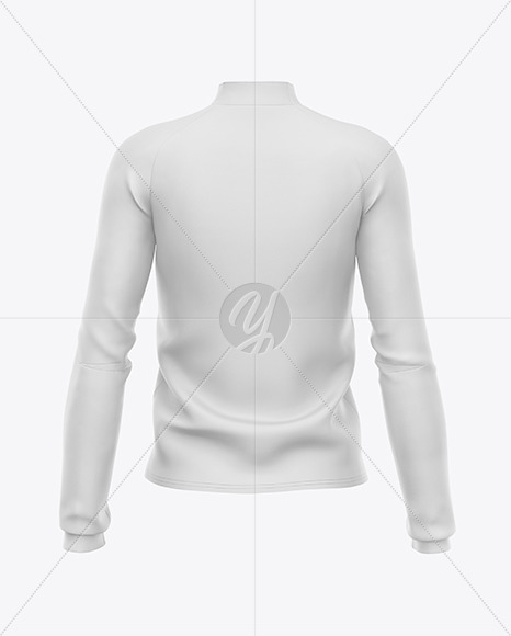 Women's Long Sleeve Jacket Mockup