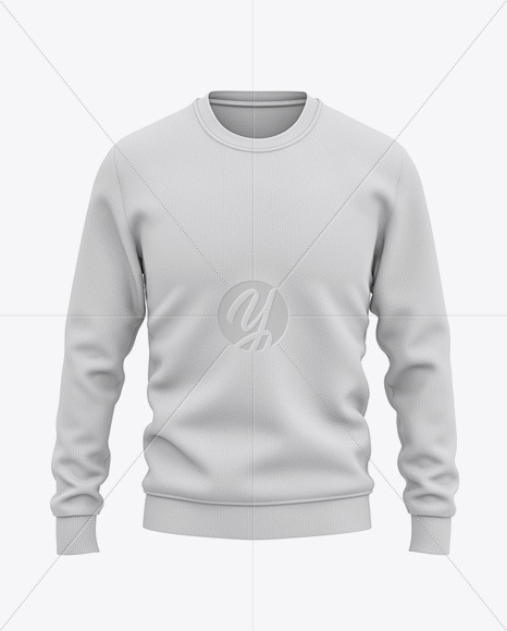 Men's Sweatshirt Mockup - Front View