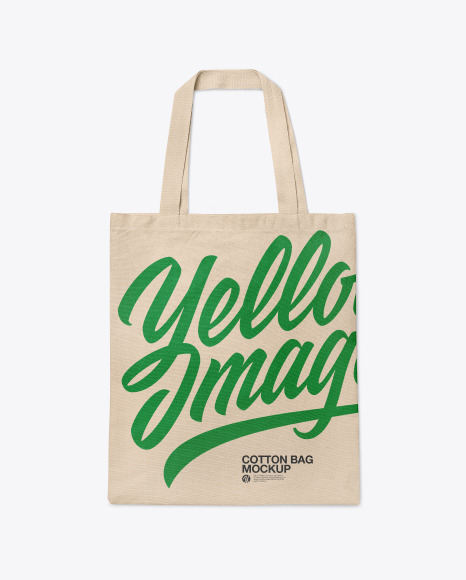 Cotton Bag Mockup