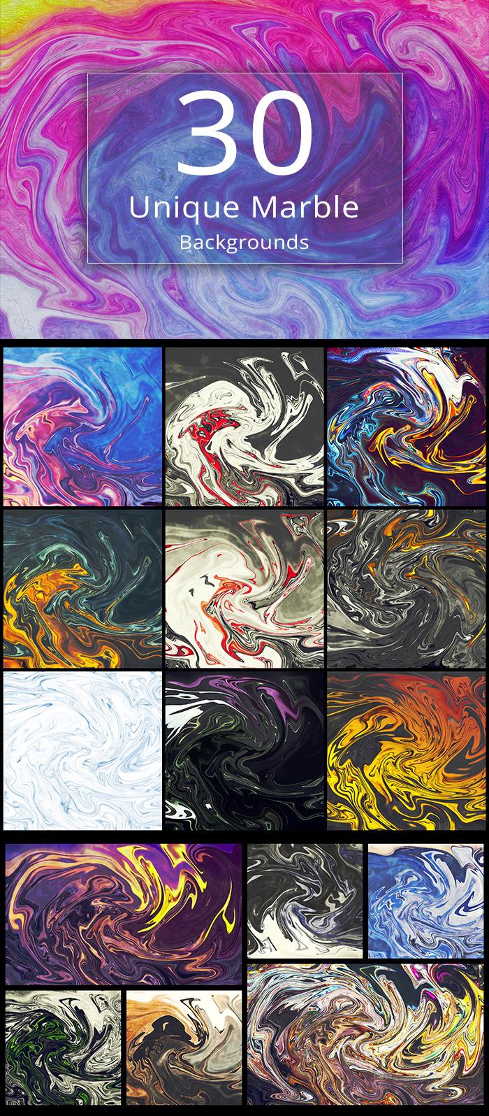 30 Unique Marble Textures