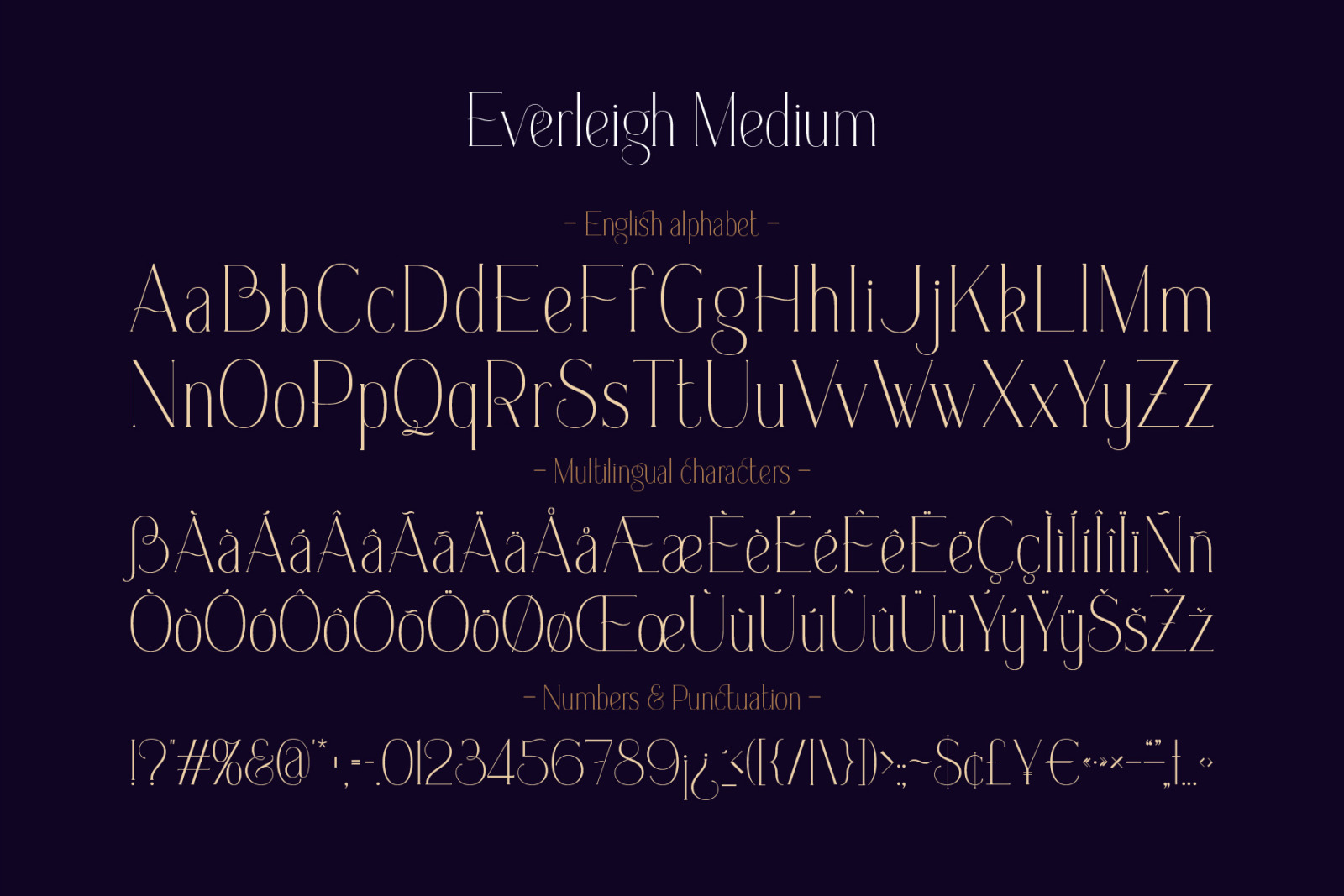 Everleigh Font Duo