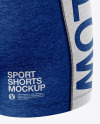 Melange Women's Sport Kit Mockup - Back Half Side View