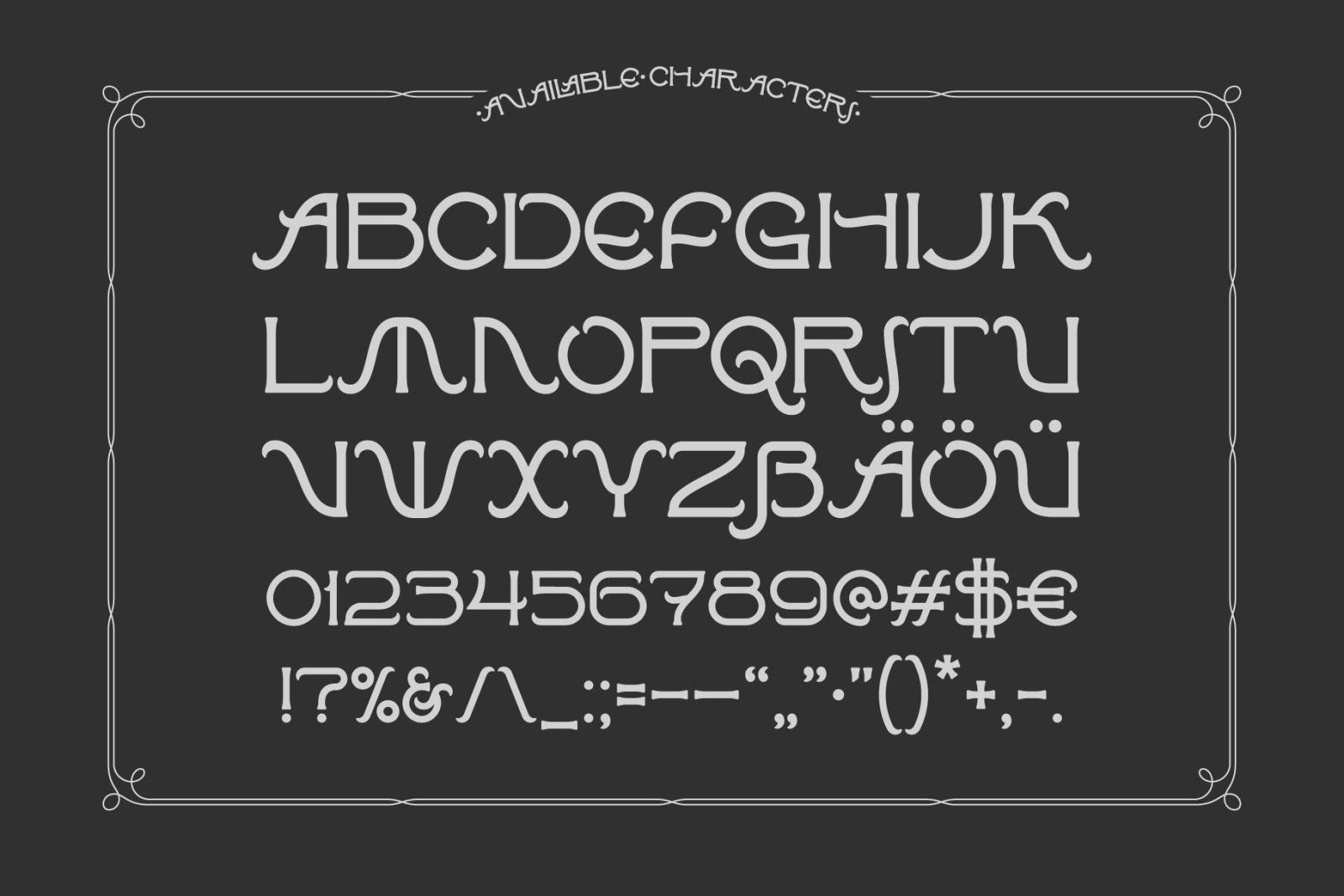 Affair Typeface & Graphics