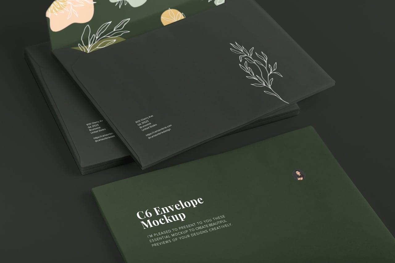 C6 Envelope Mockup 01