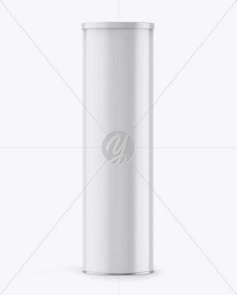 Glossy Tube w/ Cap Mockup