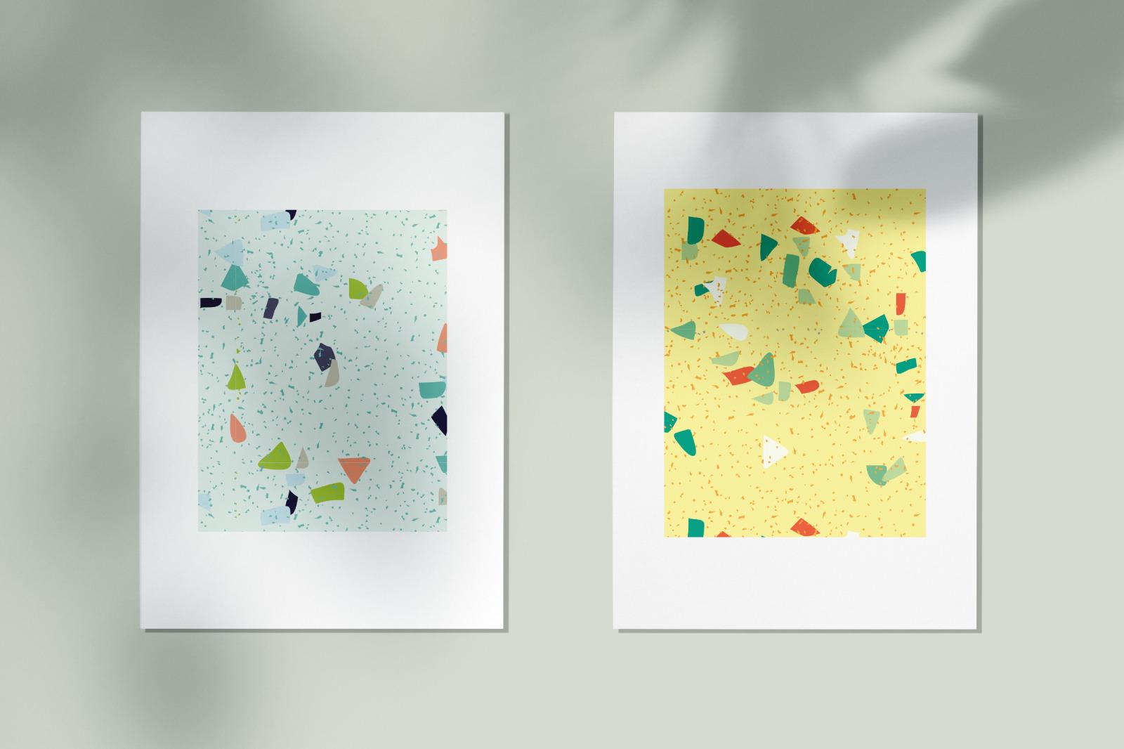 Terrazzo Seamless Patterns