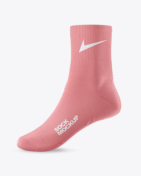 Sock Mockup