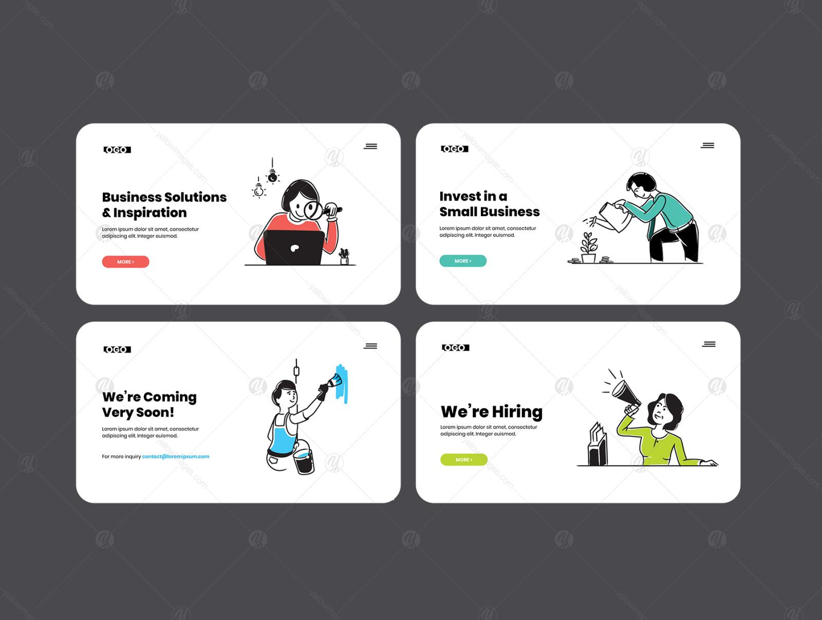 Corporate Illustration Pack-01