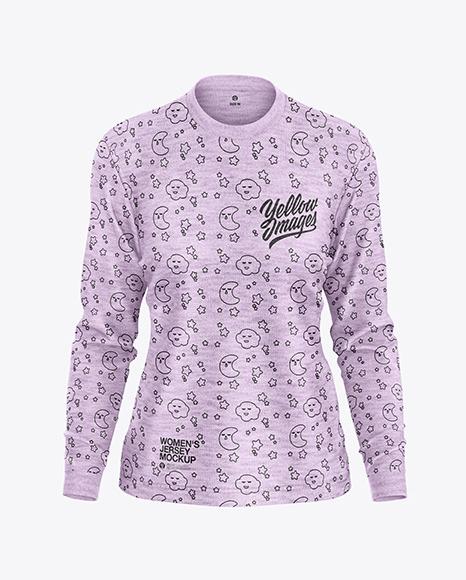 Melange Women's Long Sleeve Jersey