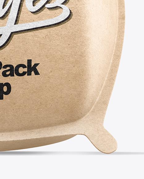Kraft Cube Pack Mockup