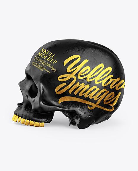 Skull Mockup