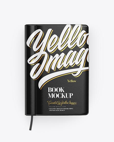 Download Book Mockup In Stationery Mockups On Yellow Images Object Mockups Yellowimages Mockups