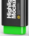 Highlighter Pen Mockup