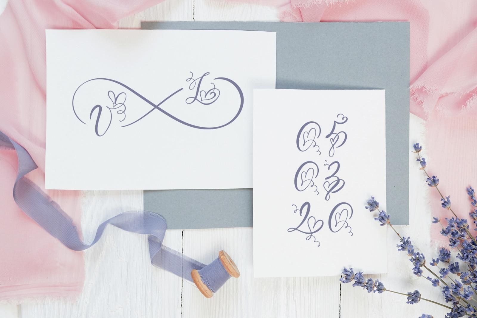 Initial Valentine Font