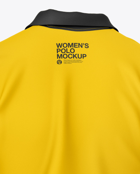 Women's Polo Shirt Mockup