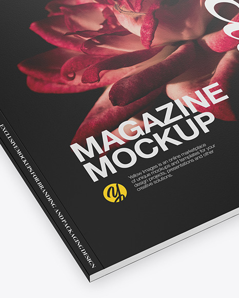 Textured A4 Magazine Mockup
