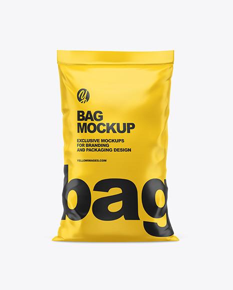Matte Bag Mockup