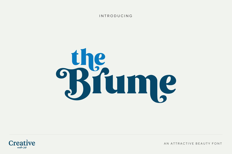 Brume Font