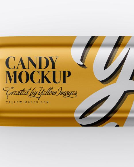 Matte Metallic Candy Mockup