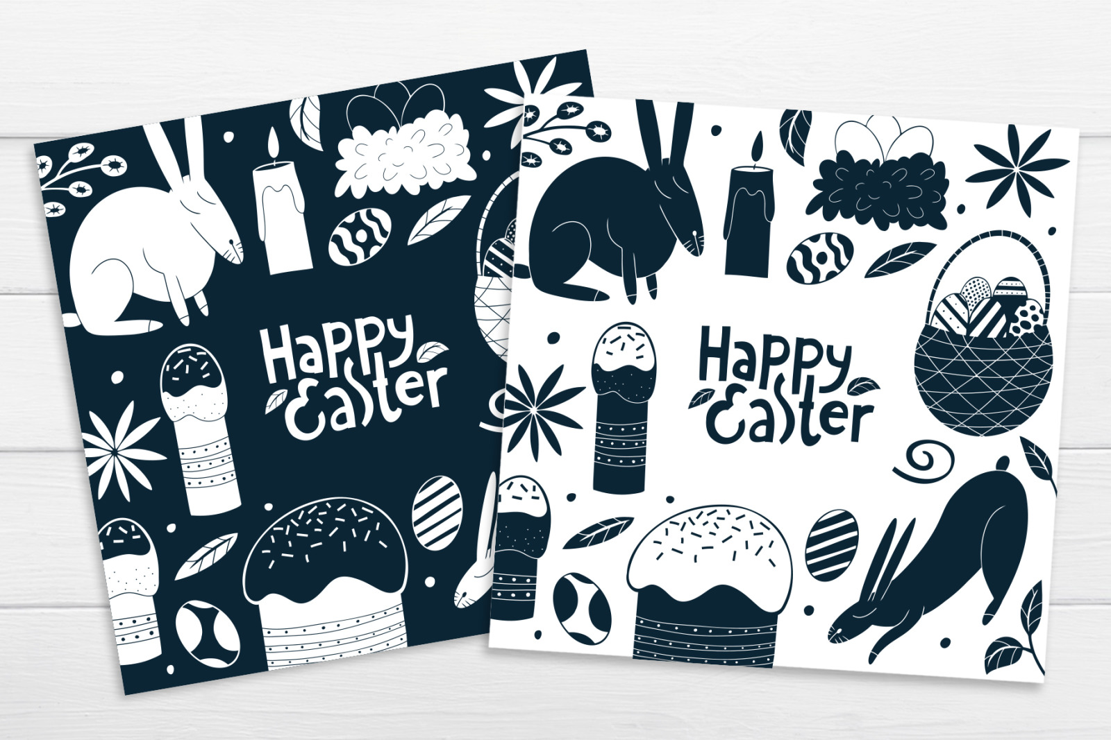 Cute Easter Vector Collection