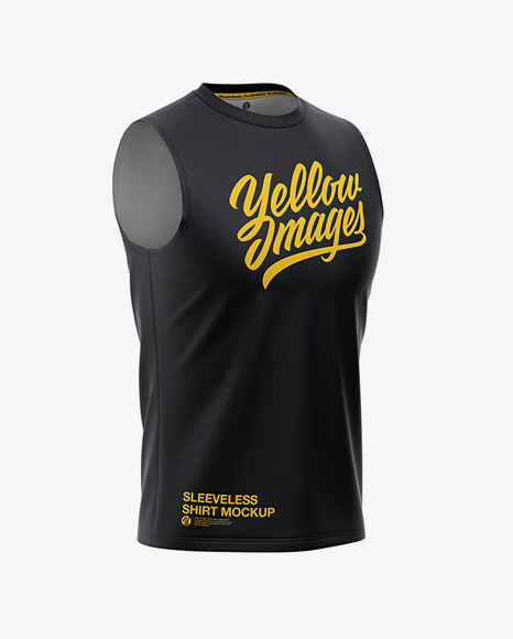 Download Sleeveless T Shirt Mockup Yellowimages