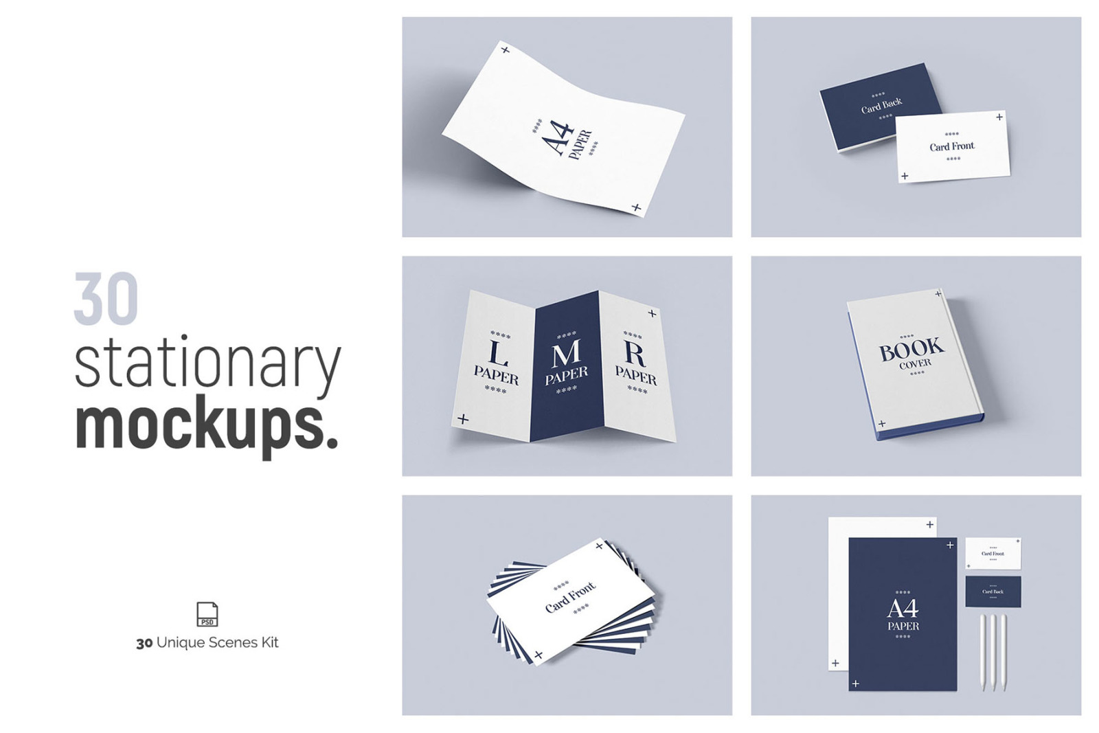 30 Stationery Mockups In Stationery Mockups On Yellow Images