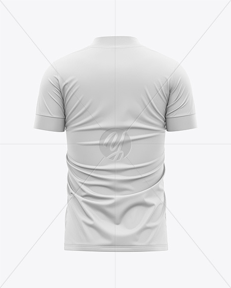 Download Men S Soccer Jersey T Shirt Mockup Back View In Apparel Mockups On Yellow Images Object Mockups PSD Mockup Templates
