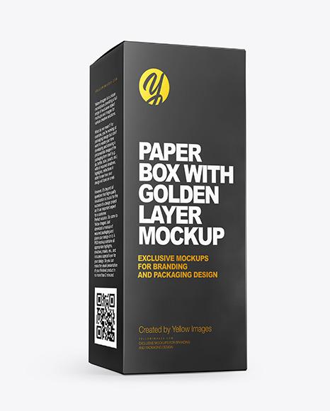 Paper Box Mockups