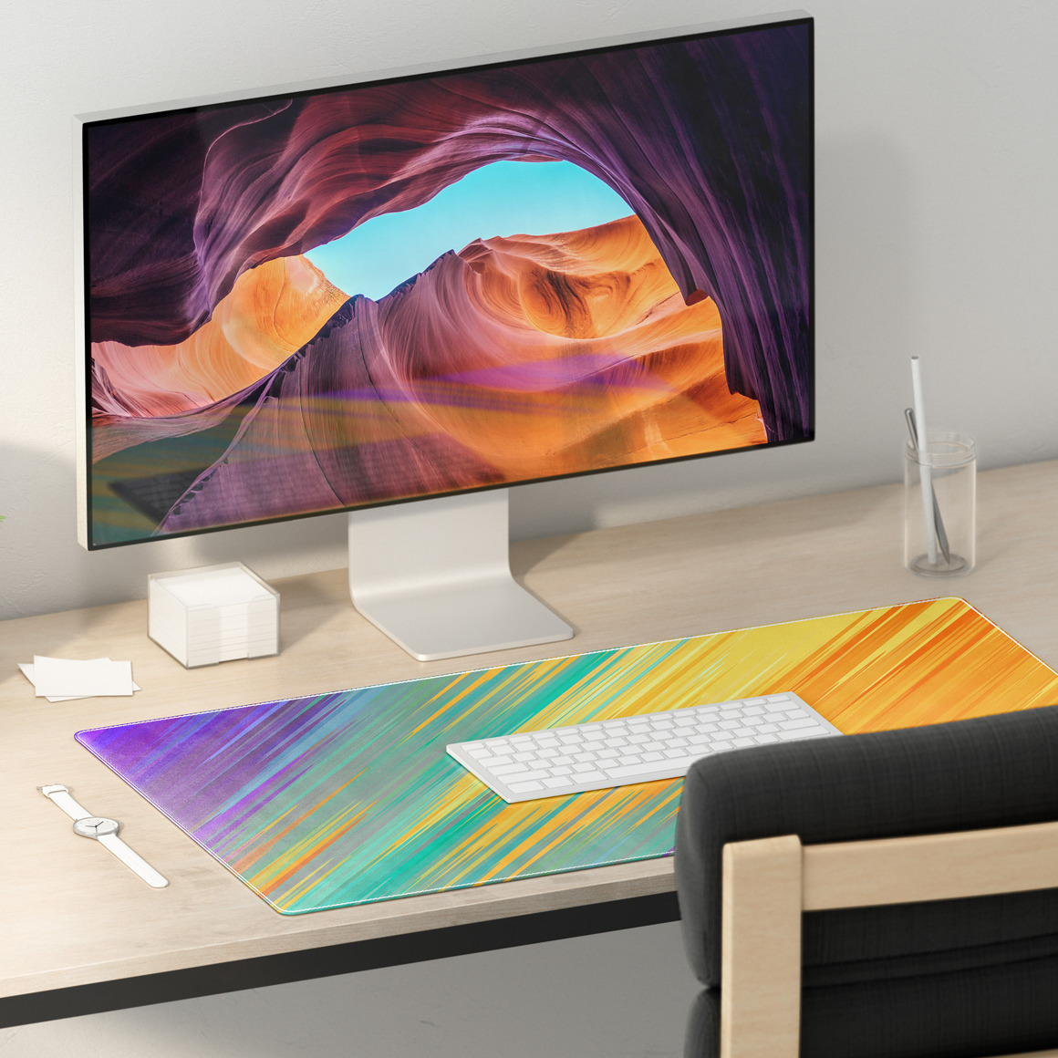 Desk Mat Mockups Set
