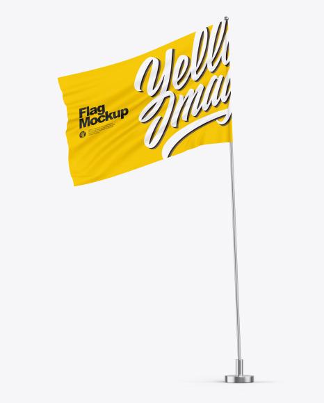 Flag on Pole