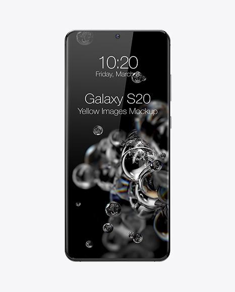 Samsung Galaxy S20 Mockup