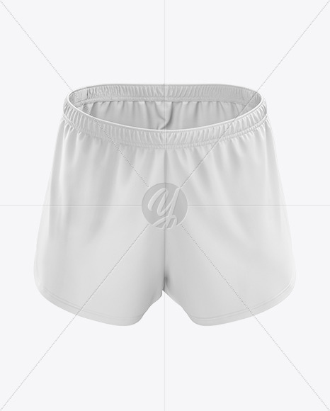 Men's Split Shorts mockup (Front View)