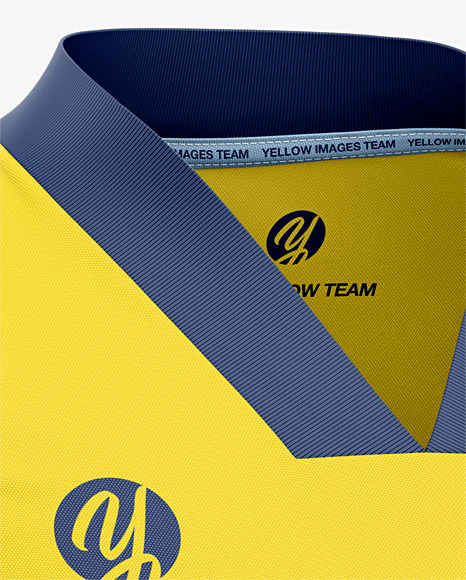 Download Mens Hockey Jersey Mockup Front Half Side View Yellowimages