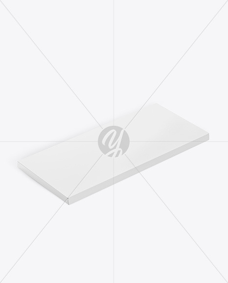 Paper Chocolate Bar Mockup