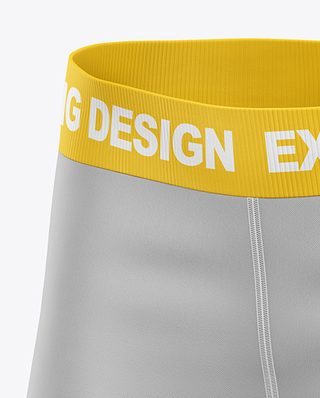 Download Mens Compression Shorts Mockup Yellowimages