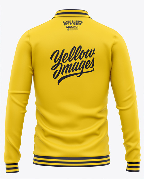 Download Polo T Shirt Mockup Front And Back Psd Free Yellow Images
