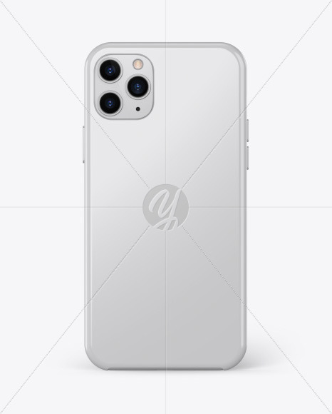 IPhone 11 Pro Glossy Case Mockup