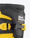 Motocross Boot Mockup