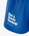 Men's Split Shorts mockup (Half Side View)