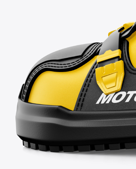 Motocross Boots Mockup