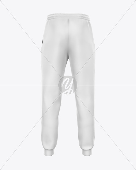 Download Melange Mens Sport Pants Mockup Yellow Images