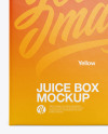 Juice Box Mockup
