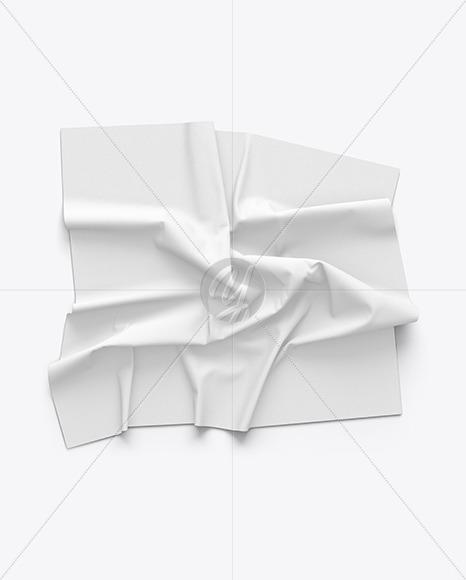 Crumpled Fabric Mockup