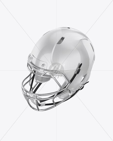 Download American Football Helmet Mockup Top View Yellow Images