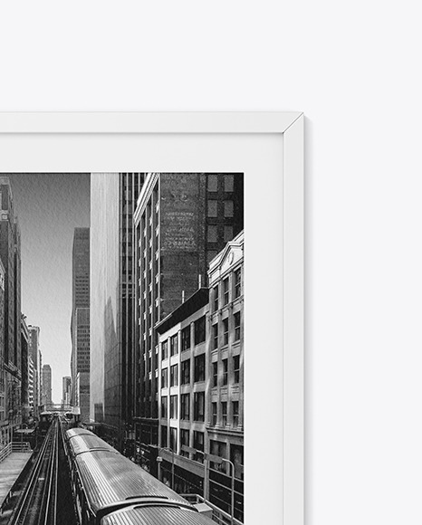 Textured Photo Frame Mockup