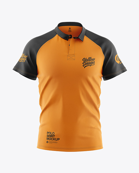 Men's Polo Shirt Mockup