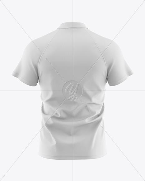 Men's Polo Shirt Mockup