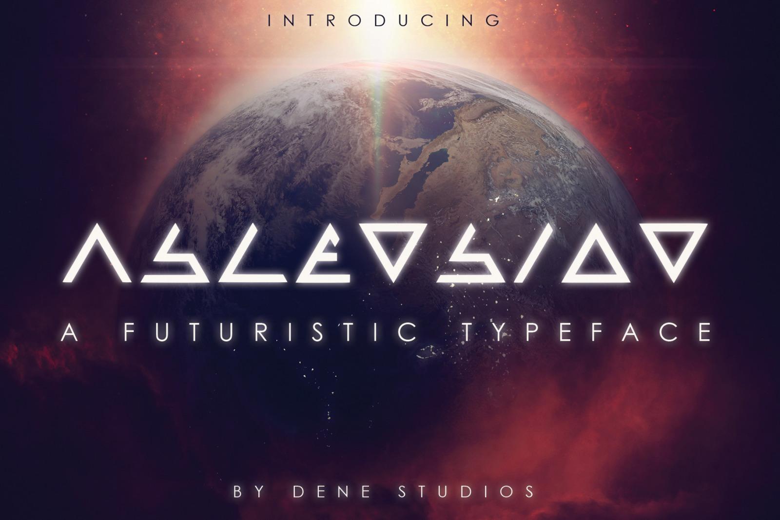 ASCENSION - A Futuristic Typeface